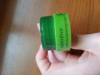【滿250送】🇰🇷innisfree 綠茶水平衡面霜