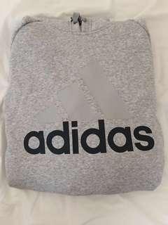 Adidas Hoodie Grey/Navy
