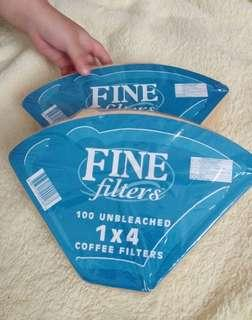 Coffee Filter Paper buy 3 for only 200