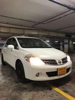 NISSAN LATIO! Promo Now! Petrol Saver Proven! 18% off petrol Card! Lowest Price! Can Drive Go-Jek/Grab/Ryde/Tada/Sixtnc! Flexible Rental Scheme! Personal User! Call Now!