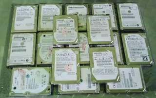 40GB laptop Sata hard disk