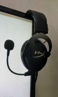Kingston HyperX Cloud 2 Gaming Headset (2 months old)