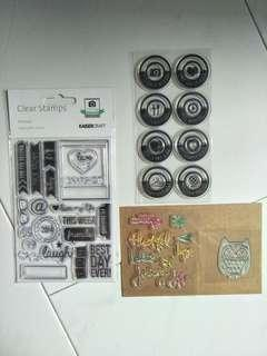 Bundle of Clear Stamps