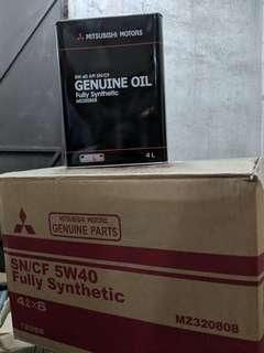 Mitsubishi 5W-40 Fully Synthetic Engine Oil