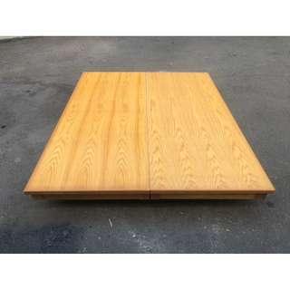 非凡二手家具 松木雙人5尺抽屜床箱*床底*雙人床架*標準雙人床*二手床箱*5X6.2尺