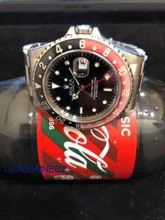"Rolex GMT-Master Ref 16700 ""Coke"" and ""Swiss Only"" **Pre-Owned**"