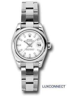 Rolex 179160 Lady-Datejust SS White Index dial UNWORN