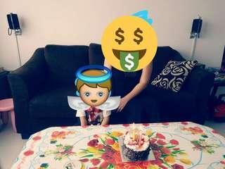 3-seat sofa and cofee table