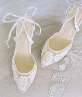 Bella Belle wedding shoes Lace婚鞋