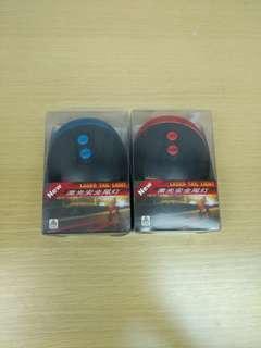 全新100%Work 紅色&藍色 雙平行線Led 單車車尾燈 New Led Red&Blue Double Parallel Line Blue Tail Light