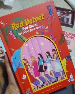 red velvet red room concert book