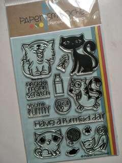 Paper Smooches Clear Stamp