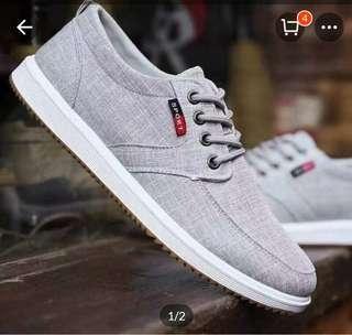 Men's Korean Slip-on Sneakers