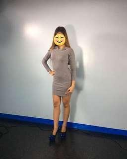 OffShoulder Bodycon Dress