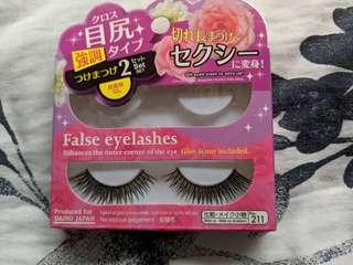 Daiso Dramatic False eyelashes 1 set