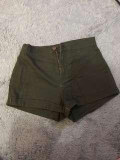 army hot pants forever21