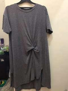grey dress lucu this is april