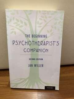 🚚 PSYCHOTHERAPIST BOOK BRAND NEW