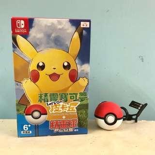 Pokemon Switch 連精靈球(無夢夢)