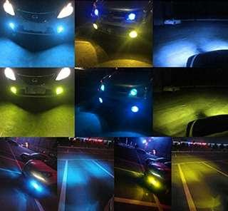 H8 dual colour LED fog lights