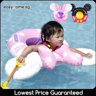 🚚 Kids Black Mouse Ring / Kids Pink Mouse Ring/ Baby Children Swimming Float