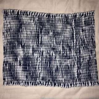 Checkered Tube/Crop Top