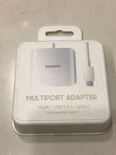 Samsung Multiport Adapter : HDMI, USB 3.0, USB-charge
