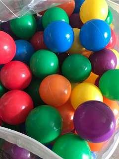 Colourful balls for baby/ toddler