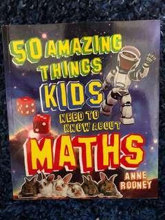 Children's math coloured book