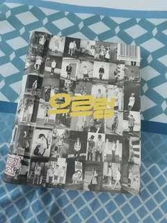 EXO Growl Repackage Album (Korean Ver.)