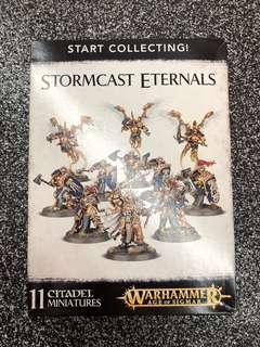 Warhammer AoS stormcast eternals starter set
