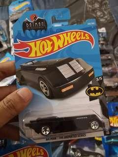 Hot WHEELS Batman The Animated
