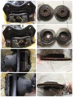 L700 front brake set for kelisa or kenari