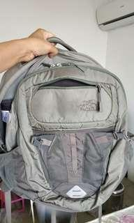 North Face Recon grey backpack