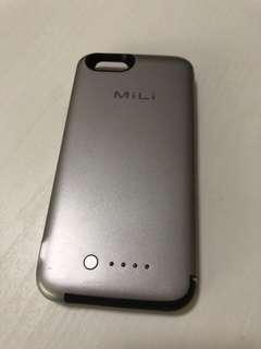 2手 MiLi iPhone 6 义電 手機套 3500mAh