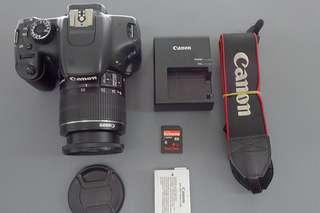 Canon EOS 550D | 18mp with HD video