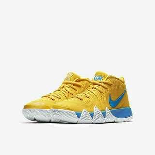 Nike Kyrie 4 Kix Amarillo Yellow