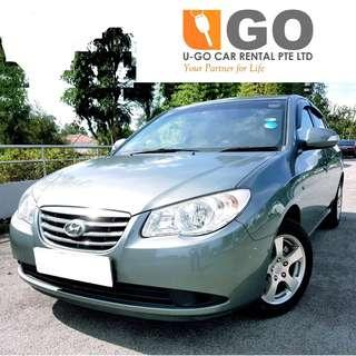 HYUNDAI AVANTE 1.6 AT FOR RENT/ GRAB / GOJEK / PERSONAL USEAGE