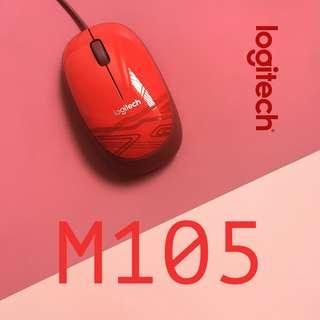 🚚 The Logitech M105 Corded Mouse
