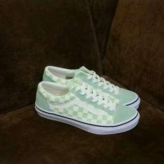 Vans Oldskool Japan V36OG Checkboard Green
