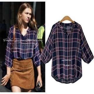 3/4 sleeves blouse top