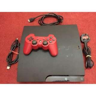 PlayStation 3 PS3 Console Slim CECH-3006A 250GB- Black