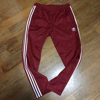 Adidas Red Track Pants