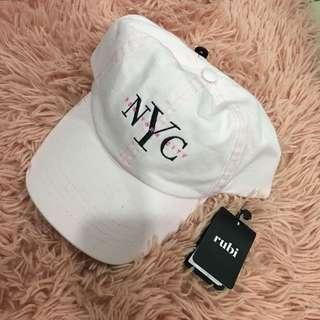 Cotton On NYC Pink Hat