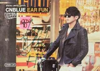 CNBLUE Ear Fun Poster (Jung Yong Hwa version)