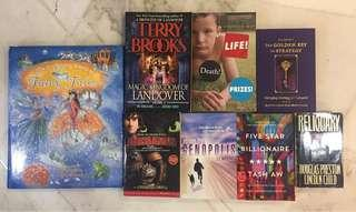 English Books assorted tittles