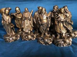 8 Immortals Cross Sea Figures 八仙过海