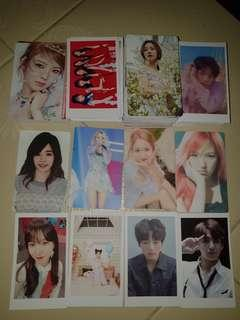 [Instocks] Unofficial KPOP LOMO/Photocard/Ezlink Sticker sets and GRAB BAGS