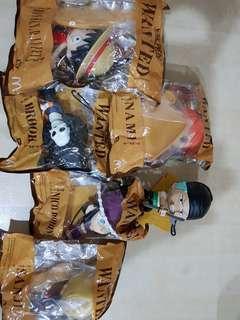 Macdonald One Piece toys