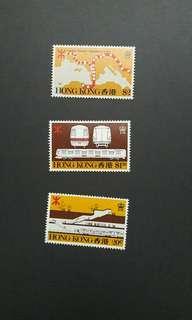 1979年地下鐵路郵票一套